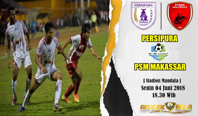Prediksi Persipura Jayapura vs PSM Makassar 4 Juni 2018
