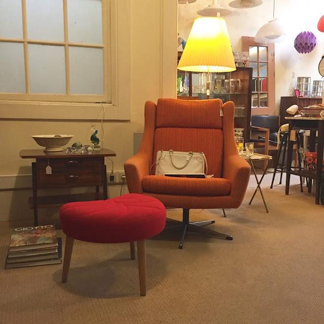 móveis vintage, design nórdico, anos 70, loja vintage