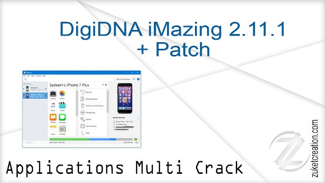 DigiDNA iMazing 2.11.1 + Patch