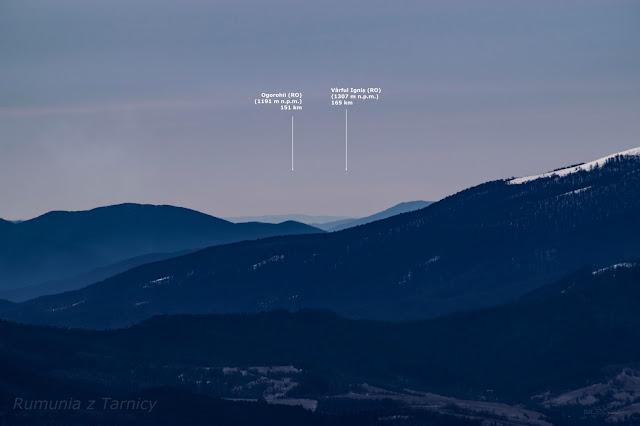 Rumunia - Góry Ignis - z Tarnicy