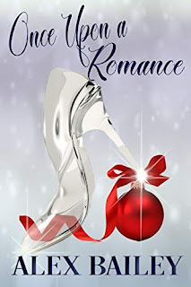 Once Upon a Romance - a heart-warming holiday romance kindle book promotion Alex Bailey