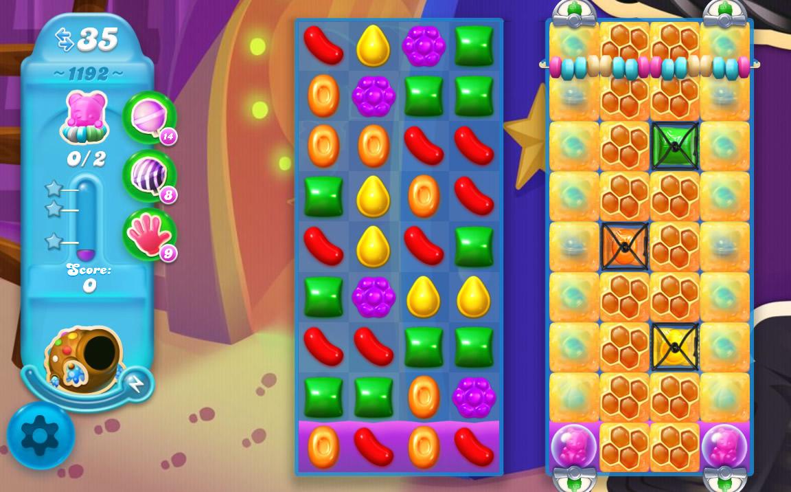 Candy Crush Soda Saga level 1192