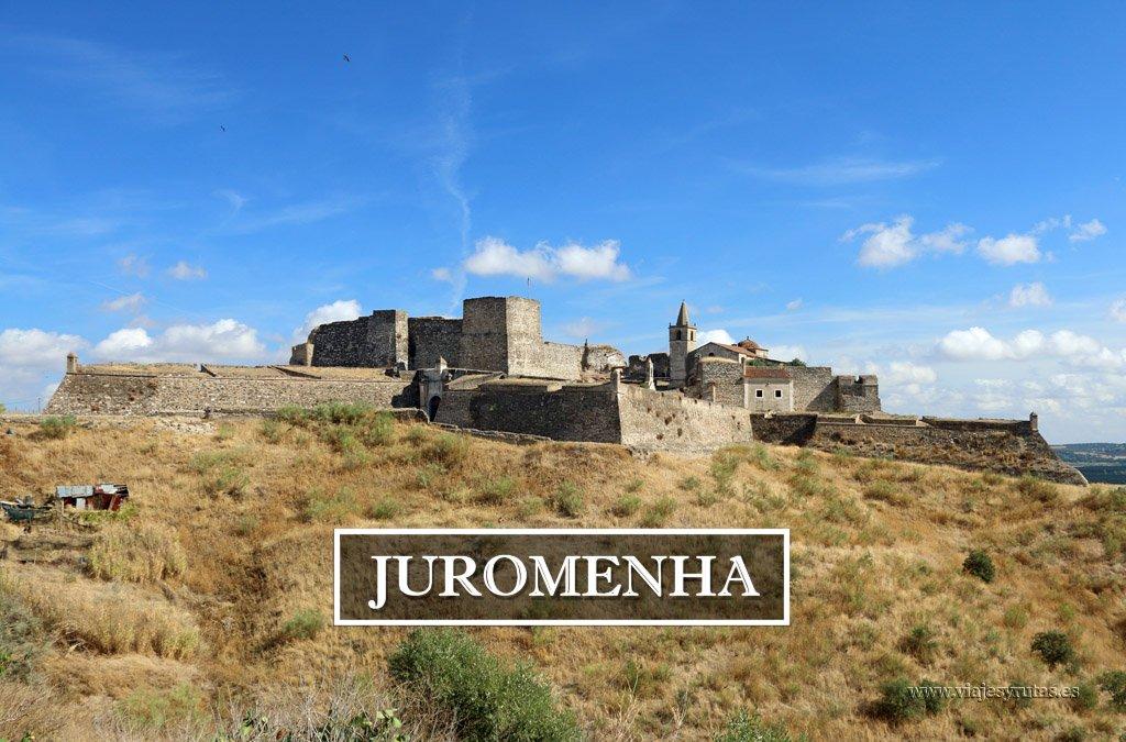Juromenha, las ruinas de una ciudad fortificada