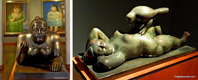 Esculturas de Fernando Botero, Museu Botero, Bogotá