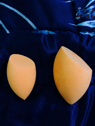 """puna store makeup brushes""Puna Store® Complexion Sponge - Orange 2 Pieces"