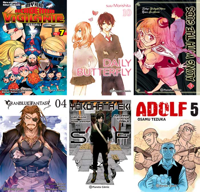 Novedades Planeta Comic octubre 2021 - manga (a la venta el 6/10)