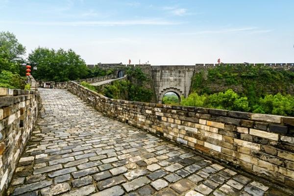 กำแพงเมืองหนานจิง (City Wall of Nanjing: 南京城墙)