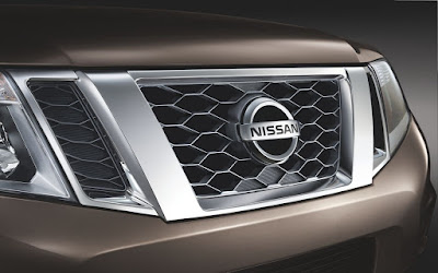 2016 Nissan Terrano AMT front bumper grill