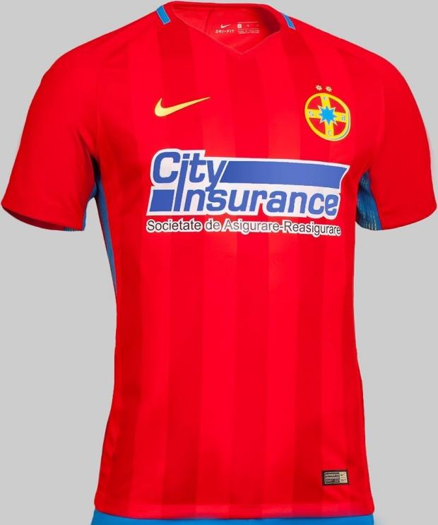 Nike divulga nova camisa titular do Steaua Bucuresti - Show de Camisas 187f17eab4510