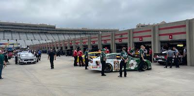 Atlanta Motor Speedway Garage Area #NASCAR