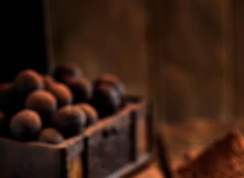 Zdrowe trufle z orzechami, kakao i cynamonem- bez cukru