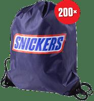 Castiga 200 de rucsace pline de premii - concurs - snickers - castiga.net