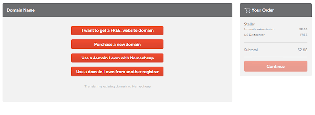 Cara Membeli Hosting Namecheap, Rekomendasi Hosting 85% Diskon