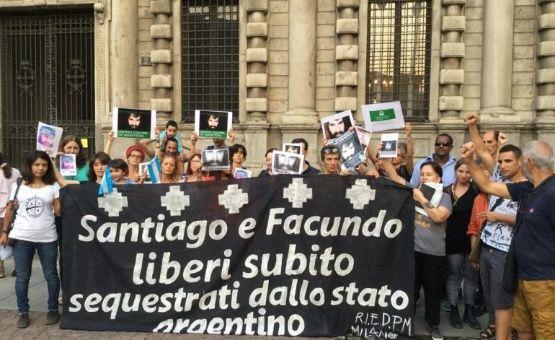Argentinos en Europa denuncian desaparición de Maldonado