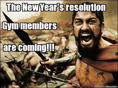 Meme Maker - the new years resolution