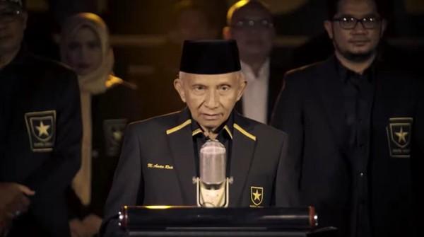 Amien Rais Feat Besan di PAN, Kini dengan Mantu Pimpin Partai Ummat