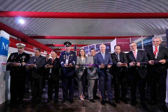 INICIA AEROEXPO 2020 EN EL AEROPUERTO INTERNACIONAL DE TOLUCA