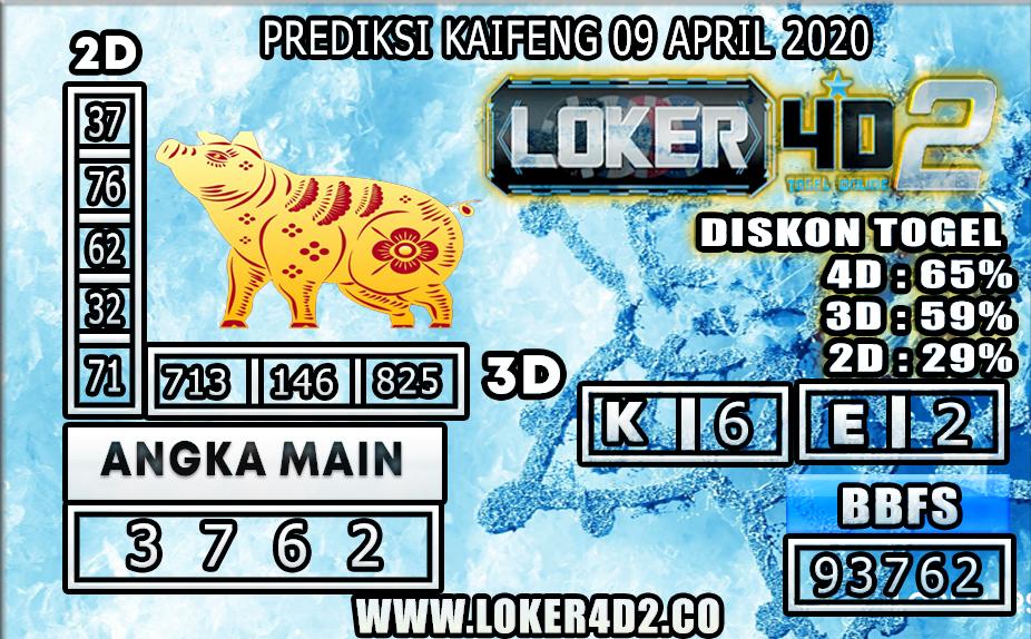 PREDIKSI TOGEL KAIFENG LOKER4D2 09 APRIL 2020