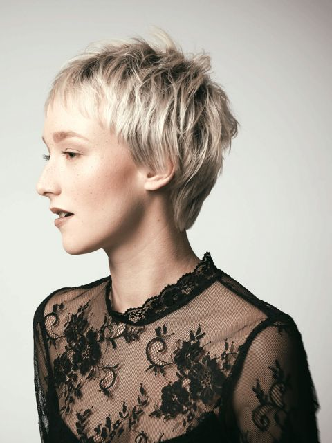 Top 21 Kurzhaarfrisuren Frauen Männliche Frisuren 2018 2019