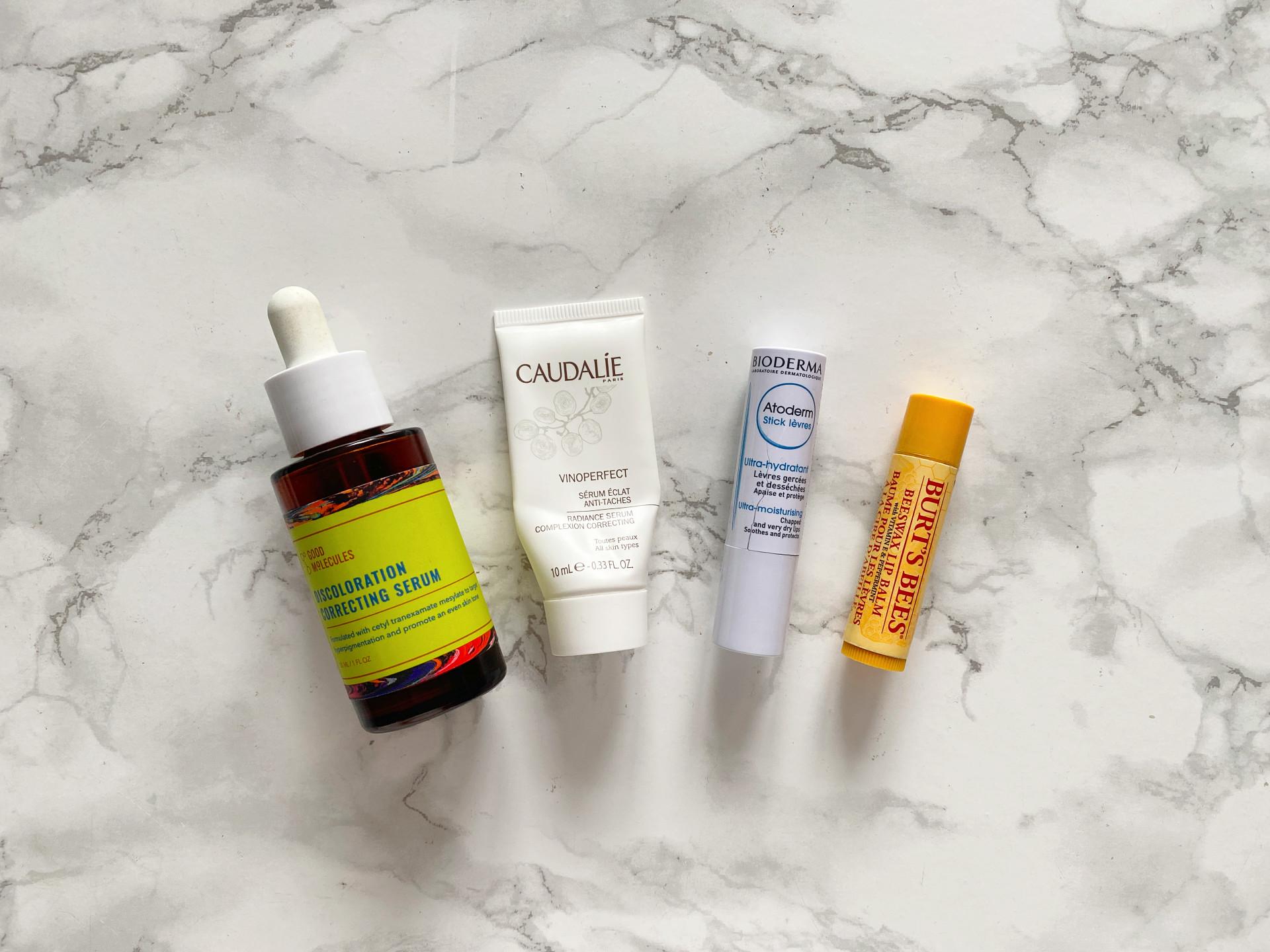 skincare empties good molecules caudalie