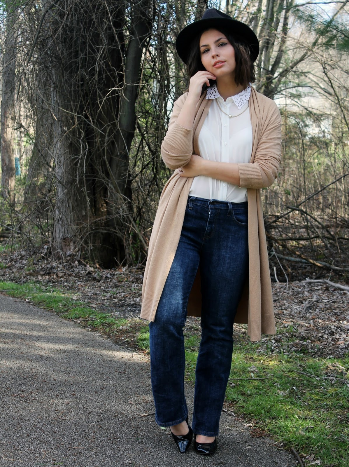 How to Wear Wide Leg Jeans if You're Short. | Someone Like You
