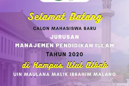 Info Grup Mahasiswa Baru (MABA) MPI UIN Maliki Malang 2020