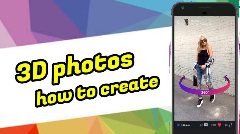 Download 3D Photos Maker App