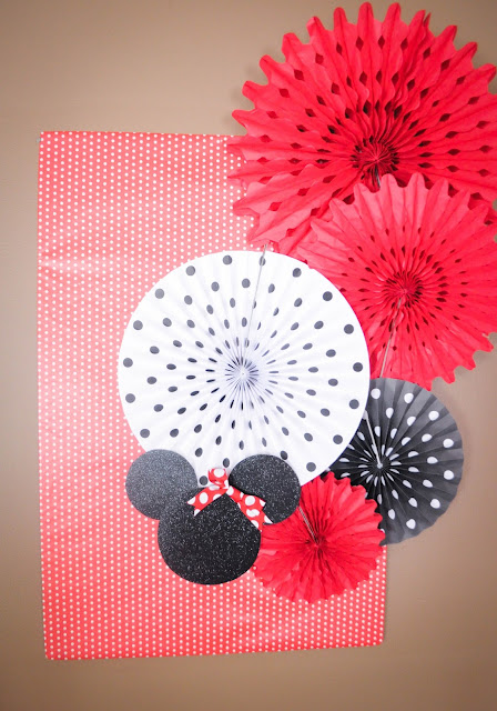 Minne Mouse party backdrop