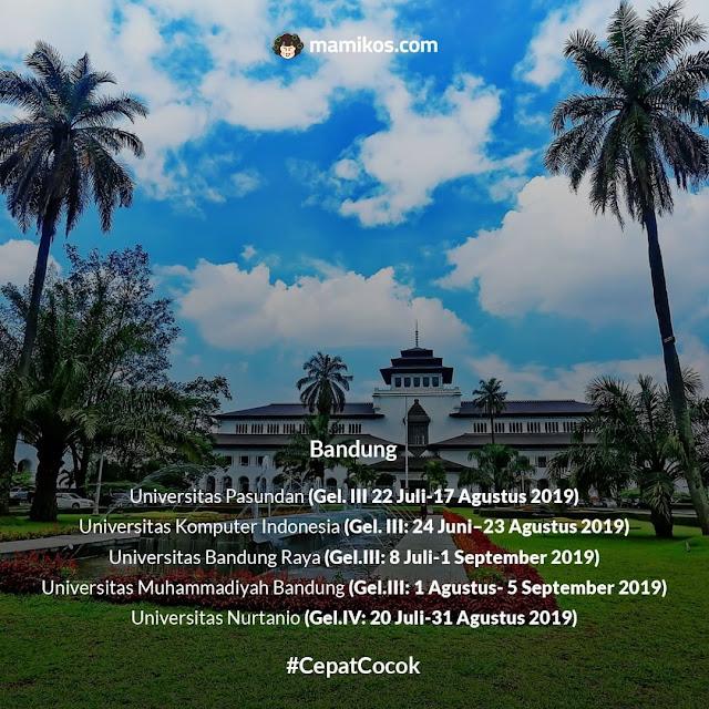 Universitas Swasta bandung yang Masih Membuka Pendaftaran