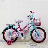 sepeda mini anak trex unicorn kids city bike