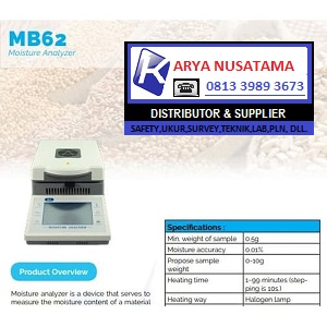Jual Alat Kelembaban Halogen Analyzer MB62 di Balikpapan