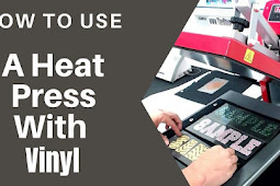How to Use a Heat Press with Vinyl