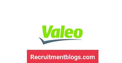 12 IT Vacancies At Valeo - Junior,Standard and Senior levels -Communication, Mechatronics, Electronics , Computer Engineering,Computer science,Mechanical Design and Mechatronics