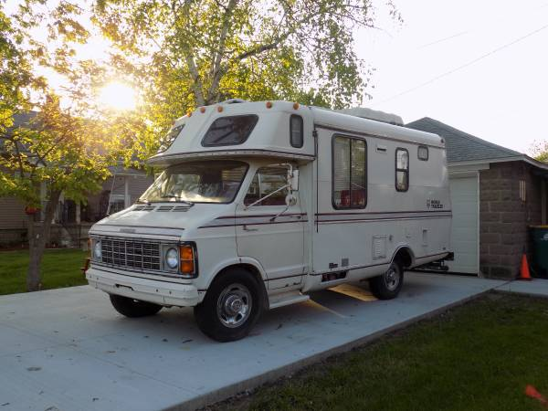 used rvs 1978 dodge sportsman camper for sale by owner. Black Bedroom Furniture Sets. Home Design Ideas