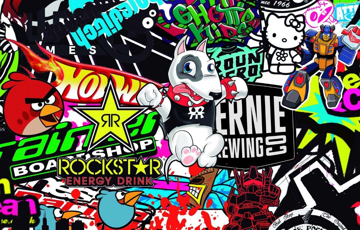 Crazy Stick Stikers Boom