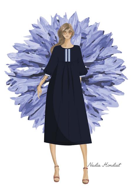 Платье. Модель 384. Автор: N Himdiat