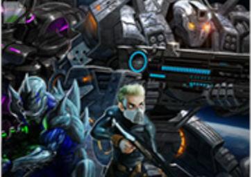 Alien atak takımı savaş oyunu