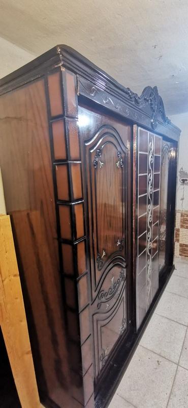 غرفة نوم مستعملة 3 ضلفة جرار فيرنتشر ستورز المطرية 11