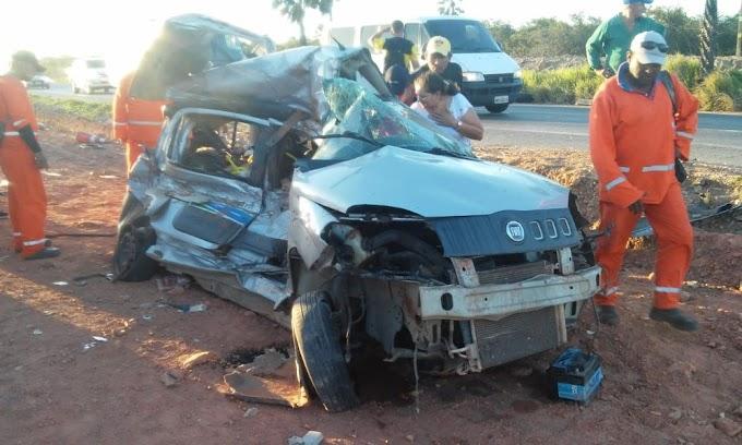 Quatro pessoas morrem em acidente na BR-222, no Ceará
