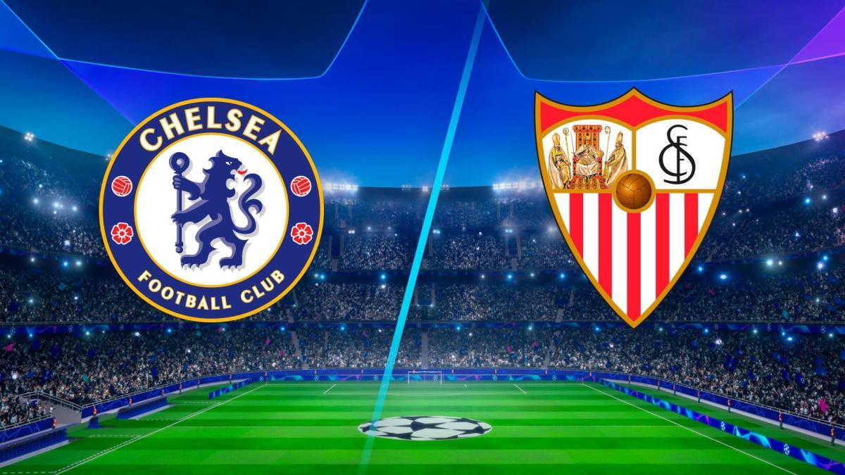 موعد مباراة إشبيلية ضد تشيلسي والقنوات الناقلة في قمة المجموعة الخامسة بدوري أبطال أوروبا