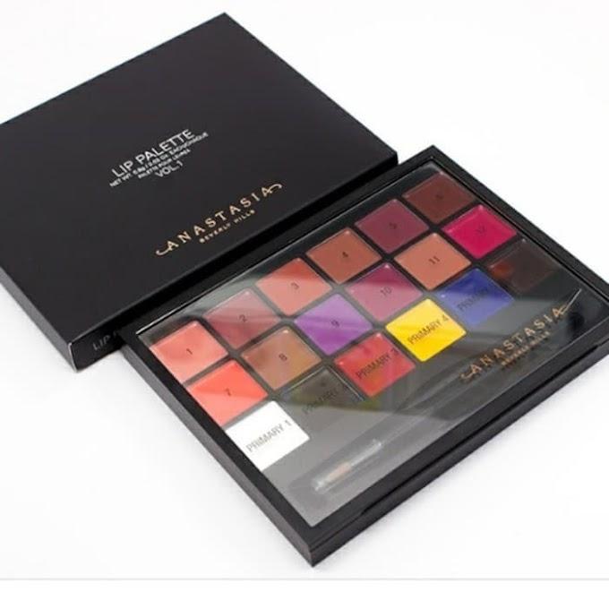 Kreasi Sendiri Warna Lipstik Dengan Lip Palette Anastasia Beverly Hills