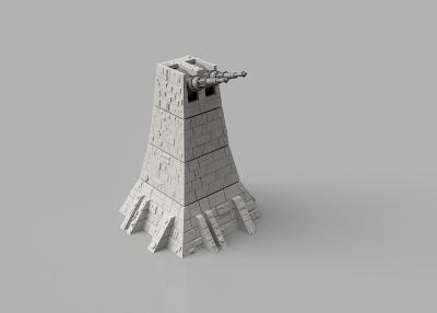 Death Star Starwars Diorama 3d print - Turret