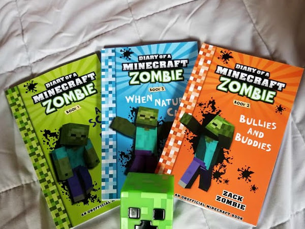 DIARY of a MINECRAFT ZOMBIE Book Series is Perfect for Kids this Holiday! #MBPHGG19