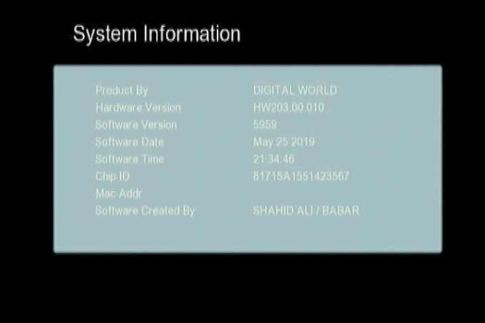 GX6605S HW203.00.010 CLINE OK NEW SOFTWARE