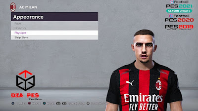 PES 2020 Faces Ismaël Bennacer by Chakib Guergour