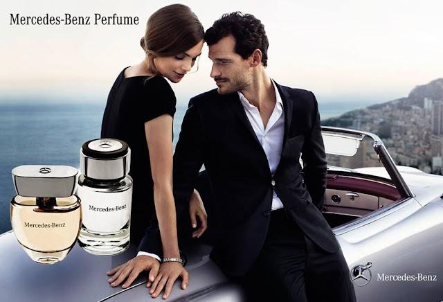 mercedes benz perfume commercial