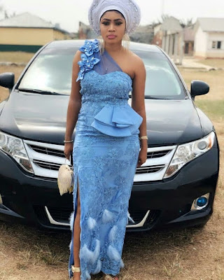 Stunning Wedding Guest Lace Aso Ebi Styles you will love