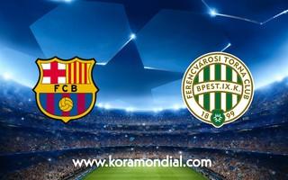 مشاهدة مباراة برشلونة و فرينكفاروزي اليوم 20-10-2020 في دوري أبطال أوروبا