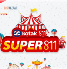 Play Kotak Super 811 Game & Get FREE Rs.100 Amazon Voucher