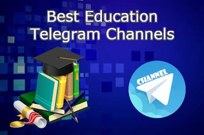 Best Telegram Channels for Education